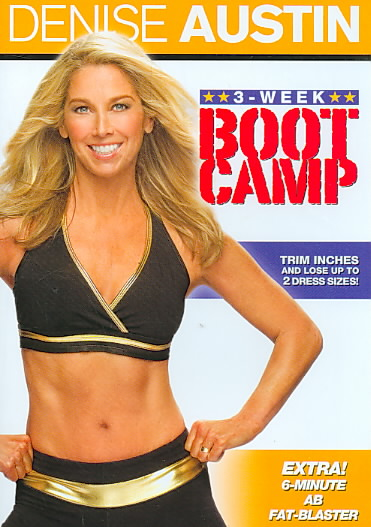 DENISE AUSTIN:3 WEEK BOOT CAMP BY AUSTIN,DENISE (DVD)
